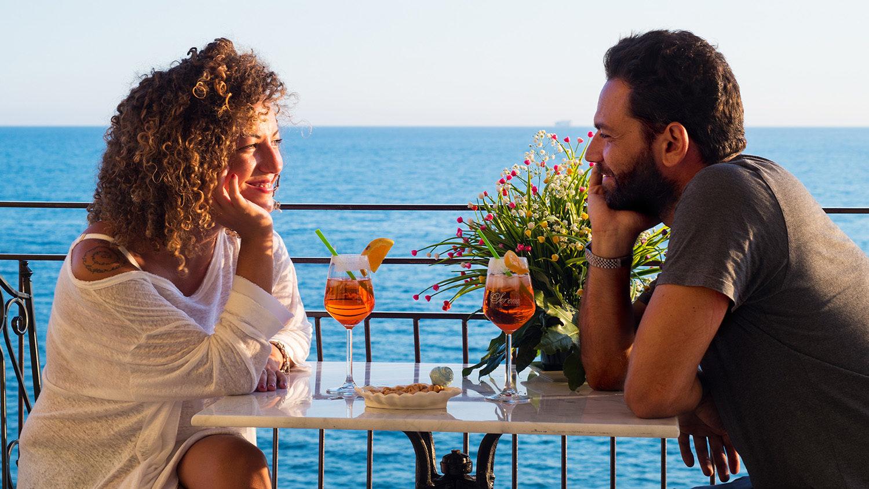 coppia aperitivo - B&B Tramonto sul Mare